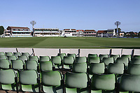 General view of the ground ahead of Kent CCC vs Essex CCC, Specsavers County Championship Division 1 Cricket at the St Lawrence Ground on 19th August 2019