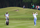 Peter UIHLEIN (USA) during round 3 of the 2015 BMW PGA Championship over the West Course at Wentworth, Virgina Water, London. 23/05/2015<br /> Picture Fran Caffrey, www.golffile.ie: