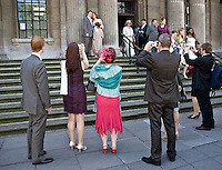 Civil marriage at Registry office