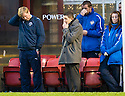 MORTON MANAGER ALAN MOORE AND HIS DEJECTED BENCH