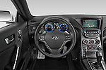 Car pictures of steering wheel view of a2015 Hyundai Genesis Coupe 3.8T 8-Speed A/T 2 Door Coupe 2WD Steering Wheel