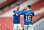 St Mirren v St Johnstone…09.05.21  Scottish Cup Semi-Final Hampden Park <br />Callum Booth celebrates with Glenn Middleton at full time<br />Picture by Graeme Hart.<br />Copyright Perthshire Picture Agency<br />Tel: 01738 623350  Mobile: 07990 594431