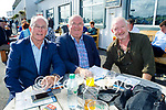 Enjoying the afternoon at the Listowel races on Monday, l to r: Sean Walsh (Moyvane), Mike Larkin (Milltown) and Donal O'Shea (Killorglin).