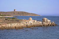 - Sardegna, isola dell' Asinara, la costa a nord di Cala Reale<br /> <br /> - Sardinia, Asinara island, the coast north of Cala Reale