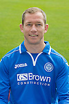 St Johnstone FC 2013-14<br /> Frazer Wright<br /> Picture by Graeme Hart.<br /> Copyright Perthshire Picture Agency<br /> Tel: 01738 623350  Mobile: 07990 594431