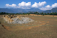 The destroy airport of Badachour in Rolpa District Nepal..-The full text reportage is available on request in Word format