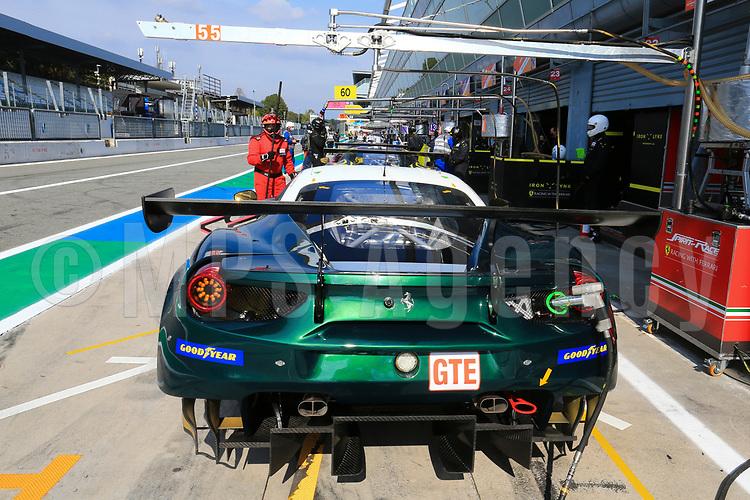 #55 SPIRIT OF RACE (CHE) FERRARI 488 GTE EVO LMGTE DUNCAN CAMERON (GBR) MATTHEW GRIFFIN (IRL) AARON SCOTT (GBR)