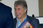 TV Presenter John  Inverdale at the official launch of the RBS Six Nations rugby tournament at the Hurlingham Club in London..