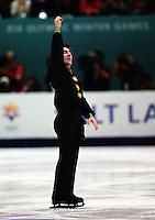 Elvis Stojko Canada 2002 Olympics. Photo copyright Eileen Langsley.