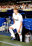 Madrid (24/08/10).-Estadio Santiago Bernabeu..XXXII Trofeo Santiago Bernabeu..Real Madrid 2- Penarol 0..Sergio Canales...© Alex Cid-Fuentes/ALFAQUI
