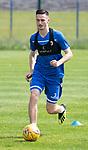 St Johnstone Training….29.06.19   McDiarmid Park, Perth<br />Scott Tanser<br />Picture by Graeme Hart.<br />Copyright Perthshire Picture Agency<br />Tel: 01738 623350  Mobile: 07990 594431