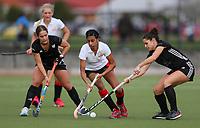 Auckland Intercity women's premier club hockey match between Southern and East Coast Bays at Kolmar Hockey Turf in Papatoetoe, Auckland, New Zealand on Saturday, 4 July 2020. Photo: Simon Watts / www.bwmedia.co.nz