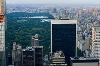 USA, New York City, Manhattan Skyline, Central Park