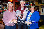 Enjoying the evening in the Brogue Inn on Friday, l to r: Liam Scully (Tralee), Liam and Dolores Brown (Dublin).