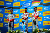 Race of Germany Nürburgring Nordschleife 2016 WTCC Race 1 Podium   © 2016 Musson/PSP. All Rights Reserved.