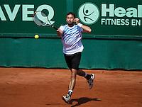 09-07-13, Netherlands, Scheveningen,  Mets, Tennis, Sport1 Open, day two, Simon Greul (GER)<br /> <br /> <br /> Photo: Henk Koster