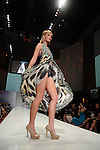 A model wears Camilla Franks  at the third night of Fashion Houston at the Wortham Theater Wednesday Oct. 12,2011.(Dave Rossman/For the Chronicle)