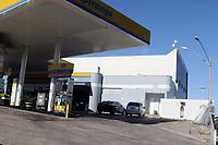 CAMPINAS, SP 10.06.2019 - POLICIA – Ladrões roubam caminhão de guincho para arrombar parede de um posto de gasolina no parque Via Norte, onde estava um cofre. (Foto: Denny Cesare/Codigo19)