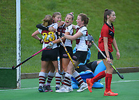 Canterbury 1 v North Harbour 1 semifinal. Under-18 Hockey Tournament day six at National Hockey Stadium in Wellington, New Zealand on Friday, 16 July 2021. Photo: Dave Lintott / lintottphoto.co.nz https://bwmedia.photoshelter.com/gallery-collection/Under-18-Hockey-Nationals-2021/C0000T49v1kln8qk