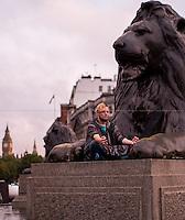 "21.09.2015 - ""Meditate in Trafalgar Square on World Peace Day"" - #PeaceDay"