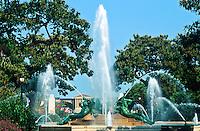 Logan Circle fountain, Philadelphia, Pennsylvania