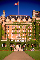 Historic Fairmont Empress Hotel, Victoria, BC, British Columbia, Canada