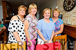 Martina Hanafin, Bernadette O'Brien, Kathleen Curtin and Mary Mullins enjoying the evening in Bella Bia on Friday.