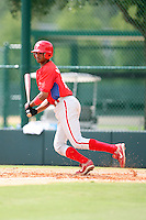 August 12, 2008: Lendy Castillo of the GCL Phillies.  Photo by: Chris Proctor/Four Seam Images