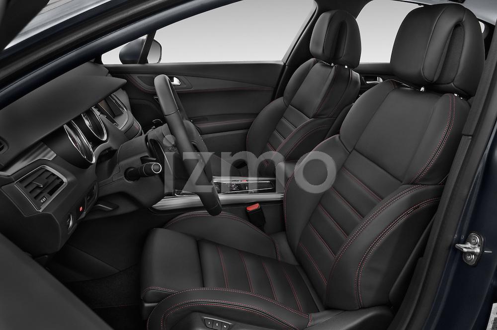 Front seat view of a 2015 Peugeot 508 GT 4 Door Sedan 2WD Front Seat car photos