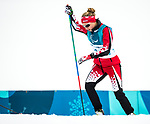 PyeongChang 9/3/2018 - Natalie Wilkie, of Salmon Arm, BC, during a biathlon/cross country training session at the Alpensia Biathlon Centre during the 2018 Winter Paralympic Games in Pyeongchang, Korea. Photo: Dave Holland/Canadian Paralympic Committee