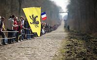 111th Paris-Roubaix 2013..sector #18: Trouée d'Arenberg