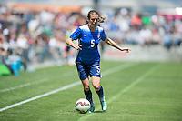 San Jose, Ca. - Sunday, May 10, 2015: The USWNT defeated Ireland 3-0 in an international friendly game at Avaya Stadium.