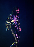 Tony Iommi,<br /> Black Sabbath in concert circa 1986<br /> <br /> photo (c)  Images Distribution