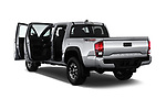 Car images close up view of a 2018 Toyota Tacoma TRD Off Road Double Cab 4 Door Pick Up doors