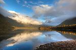 Sutherland Sound, Fiordland National Park. New Zealand.