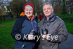 Enjoying a coffee and a stroll in the Tralee town park on Saturday, l to r: Hilda and Tommy Templeman.