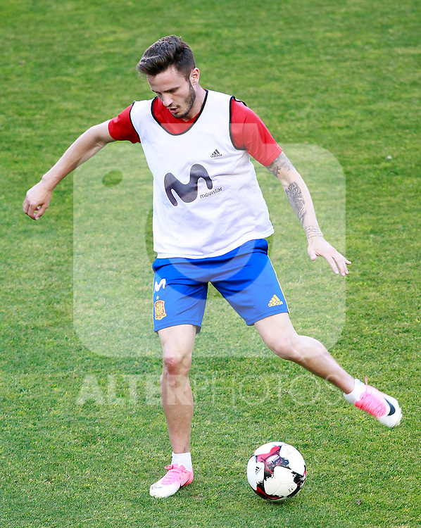 Spain's Saul Niguez during training session. June 6,2017.(ALTERPHOTOS/Acero)