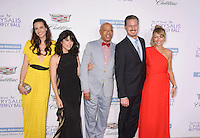 BRENTWOOD, CA - JUNE 11: (L-R) Actresses Liz Carey, Selma Blair, entrepreneur Russell Simmons, actor Eric Dane and actress Rebecca Gayheart-Dane arrive at the 15th Annual Chrysalis Butterfly Ball at a private residence on June 11, 2016 in Brentwood, California.