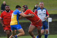 Action from the Horowhenua-Kapiti premier club rugby union match between Paraparaumu and Toa at Paraparaumu Domain in Paraparaumu, New Zealand on Saturday, 27 June 2020. Photo: Dave Lintott / lintottphoto.co.nz
