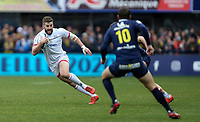 11 January 2020; Ulster's Stuart McCloskey during the Heineken Champions Cup Pool 3 Round 5 match between ASM Clermont Auvergne and Ulster at Stade Marcel-Michelin in Clermont-Ferrand, France. Photo by John Dickson/DICKSONDIGITAL