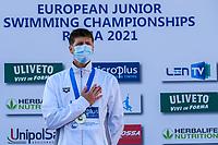 FILIZ Batuhan TUR<br /> swimming, nuoto<br /> LEN European Junior Swimming Championships 2021<br /> Rome 2176<br /> Stadio Del Nuoto Foro Italico <br /> Photo Giorgio Scala / Deepbluemedia / Insidefoto