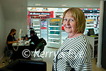 Marlyn Kelly Listowel after having her hair done in Sean Taaffe hairdressers, Tralee.