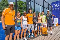 Den Bosch, Netherlands, 17 June, 2017, Tennis, Ricoh Open,  Padel winners<br /> Photo: Henk Koster/tennisimages.com