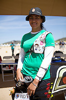 Alejandra Valencia,  ,durante su prticipacion con el equipo Mexicano femenil de Tiro con Arco que se llevo la medalla de Oro en la prueba de 70 metros   de el  torneo  Arizona Cup 2013 en  BEN Avery. 6 abril 2013 en Phoenix Arizona......during his prticipacion with Mexican women's team archery that took the gold medal in the 70 meter test the Arizona Cup tournament 2013 in Ben Avery. April 6, 2013 in Phoenix Arizona