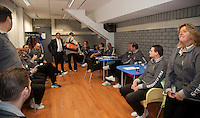 19-12-10, Tennis, Rotterdam, Reaal Tennis Masters 2010, Scheidsrechters honk