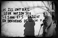 Europe/Ile de France/France:/Paris / 75011:  rue de la Fontaine Au Roi - La vérité saute aux Yeux !   //  Europe / Ile de France / France: / Paris / 75011: rue de la Fontaine Au Roi - The truth jumps to the eyes!