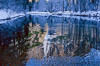 yosemite fall reflection