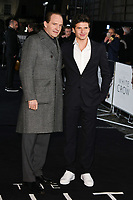 """Ralph Fiennes and Oleg Ivenko<br /> arriving for the premiere of """"The White Crow"""" at the Curzon Mayfair, London<br /> <br /> ©Ash Knotek  D3488  09/03/2019"""