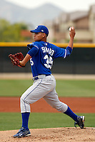 Mario Santiago - Kansas City Royals - 2009 spring training.Photo by:  Bill Mitchell/Four Seam Images