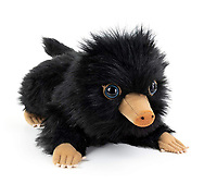 BNPS.co.uk (01202 558833)<br /> Pic: Amazon/BNPS<br /> <br /> A baby Niffler toy.<br /> <br /> 'Fantastic Beasts' can actually now be found...At the Longleat Safari Park.<br /> <br /> This prickly customer, looking just like a baby Niffler from the hit Eddie Redmayne movie Fantastic Beasts, is actually a baby Prehensile-tailed porcupine (Coendou prehensilis) recently arrived at the Wiltshire Safari Park.<br /> <br /> The odd looking South American creature spends nearly all of it's life in trees, deploying its prehensile tail as a fifth hand in the safety of the treetops.